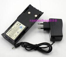 2.7AH HNN9628 Battery +Charge MOTOROLA GP88 GP300 PTX600 GP600 GTX800 EU plug