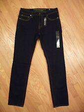 Mens NEW AE American Eagle Skinny Dark Performance Flex / 4 Denim Jeans 32 X 34