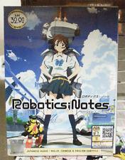 Anime DVD Robotics ; Notes Vol.1-22 End All Region English Subs +FREE ANIME
