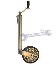 Jockey Wheel 42mm Trailer MP9743  (300Kg)  Extra Heavy Duty Smooth