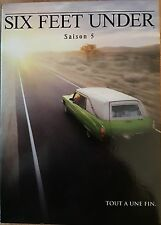 SIX FEET UNDER SAISON 5 COFFRET 5 DVD