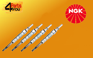 NGK 4X GLOW PLUG  AUDI A2 A3 A4 1.4 1.9 TDI 2.0 CHRYSLER SEBRING 2.0 CRD