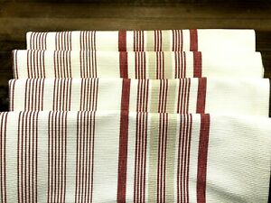"4 POTTERY BARN New Palma Stripe Lumbar Pillow Covers 16 x 26"" MSRP $43 ea."