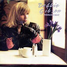 "DEBBIE GIBSON ""Foolish Beat"" (45 RPM) 7"" vinyl record w/ picture sleeve MINT"