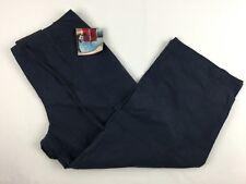 GLORIA VANDERBILT Womens Size 8 Navy Blue Capris Cropped Pants NWT