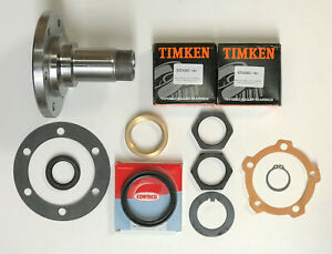 Land Rover Perentie & Early Defender >1993 Front Stub Axle & Wheel Bearings Kit
