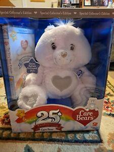 Care Bears 25th Anniversary Bear with DVD with Swarovski Crystal Eyes