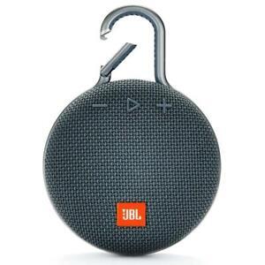 JBL Clip 3 Outdoor Sport Portable Bluetooth Speaker Waterproof  w/Carabiner USB