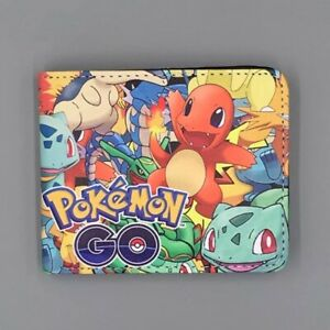 Pokemon GO Wallet Pikachu and Friends Nintendo Black Coins Cards Notes