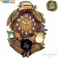 TONARI NO TOTORO Clock 4MJ837MN06 Rhythm M837N Anime Ghibli from JAPAN