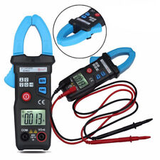 600V Digital Pocket Clamp Meter Multimeter Amps AC DC Current Volt Ohm Tester