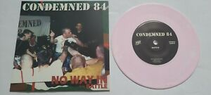 """7"""" Lp VINYL Condemned 84 - No Way Cock Sparrer The Business Oi Punk Skinhead"""