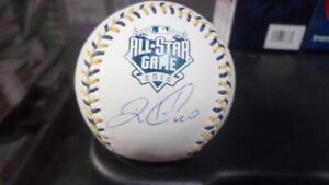 Wilson Ramos Tampa Bay Rays Signed 2016 All Star Baseball COA