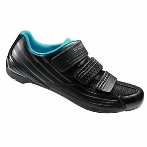 Repacked Shimano SPD SL RP2 Road Bike Bicycle Cycling Shoes Black 38 Used