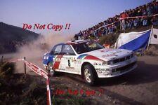 Kenneth Eriksson Mitsubishi Galant VR-4 Portugal Rally 1992 Photograph 1
