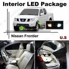 White LED Lights Interior Package Kit for Nissan Frontier 2005-15 ( 6 Pcs )