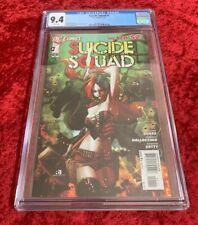 Suicide Squad #1 New 52 (DC) Rare, 1st Print, CGC 9.4.