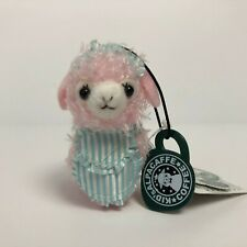 AMUSE Alpacaffe Kids Cafe Alpacasso Pink Maid (8cm) Arpakasso Plush Japan NWT