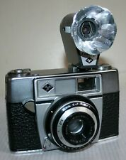 Agfa Silette II - 35mm Camera With Agnar 1:2.8 45mm Lens Case & Tully Flash