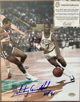 "Nate ""Tiny"" Archibald Signed 8X10 ""HOF 91"" - Boston Celtics - Schwartz Sports"