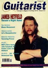 Metallica James Hetfield Guitarist Interview Clipping
