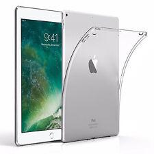 TPU Silikon Case f. Apple iPad 9.7 (2017 / 2018) Transparent Crystal Hülle Cover