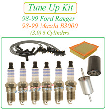 Tune Up for 98-99 Ford Ranger Mazda B3000 3.0 V6 : Spark Plugs Wire Set Air Oil