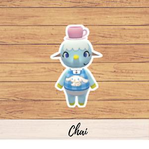 Animal Crossing Sanrio Villager Stickers ( Not amiibo card ) Animal Crossing