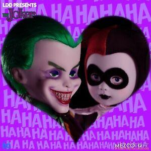 Ldd Living Dead Dolls Classic The Joker & Harley Quinn Action Figures Dc Mezco