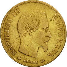 [#451851] France, Napoleon III, 10 Francs, 1859, Strasbourg, TB+, Or, KM 784.4