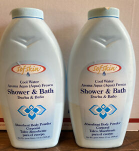 Sofskin Shower And Bath Body Powder Pack Of 2