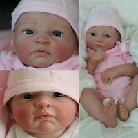 Rare - Reborn Doll Making Kit - Reborn Baby Girl NINA by Gudrun Legler - 5pc Set