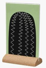 IKEA KARLSNAS Rectangular Cork Stand Picture Plexiglass Frame Discontinued Cacti