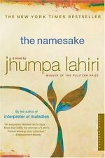 THE NAMESAKE. Book by Jhumpa Lahiri. Paperback