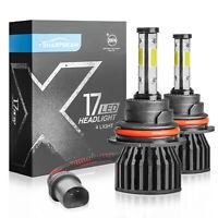 Fits Nissan Tiida 100w Clear Xenon HID High//Low//Side Headlight Bulbs Set