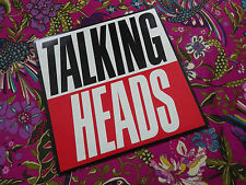 TALKING HEADS / TRUE STORIES  EMI LP RECORD