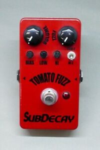 Subdecay Flying TOMATO FUZZ Made in USA Used Effector for Electric Guitar