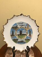 Vintage John F. Kennedy International Airport Collector's Plate - Made In Japan