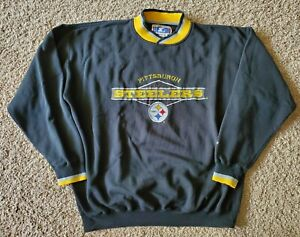 Vintage Pittsburgh Steelers Starter Sweater Pullover Classic Team Collection