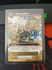Carte Loot | Don de Landro | wrathgate warcraft