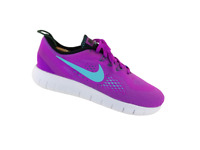Nike Free Run Youth Size 6 Purple Teal Athletic Training Comfort Running Shoes