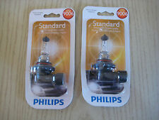 Philips 9006 Standard Halogen Replacement Bulb PAIR OF 2  PACKS  OF BULBS