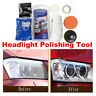 Yellow Off Headlight Lens Cleaner Restoration Wipe Shine Polisher DIY Restorer