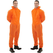 Supertex SMS Disposable Overall Suit Hood Paint Spraying Coverall Food Process