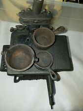 vintage cast iron stove salesman sample Queen.