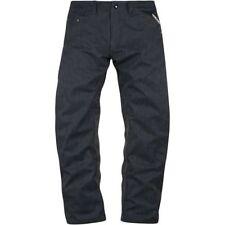 Pantalones vaqueros de rodilla para motoristas, para hombre