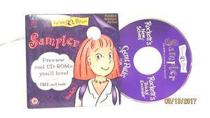 Purple Moon Sampler CD-Rom Friendship Adventures for Girls Computer Win 95/98