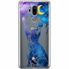 For LG G8 ThinQ Case Velvet 5G G7 V60 V50 Stylo 6 5 Galaxy Cat Clear Soft Cover