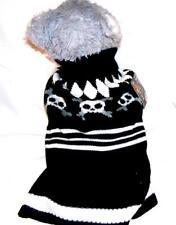 Animal Welfare League Benefit Costume Parade Halloween Dog SIZE XS SKULL SWEATER