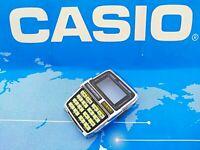 Vintage Casio DBC-630 Databank-50 Original New Phosphorous Case